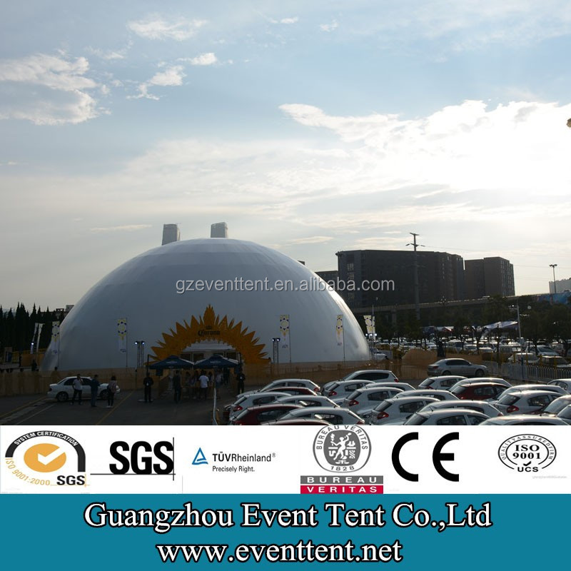 Guangzhou Heavy duty promotional newest arrival dome gazebo canopy roof metal canopy