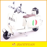 Colorful Hoggerel Handmade Metal Old Model Motorcycle for sale