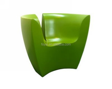 hot sale comfortable cashmere fashionable Dodo Arslan apple lounge easy V shaped chair