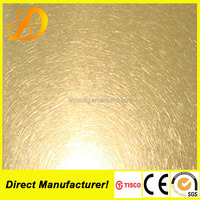 vibration finish stainless steel sheet