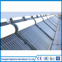 Promotional unpressure collectors compact unpressurized solar water heater