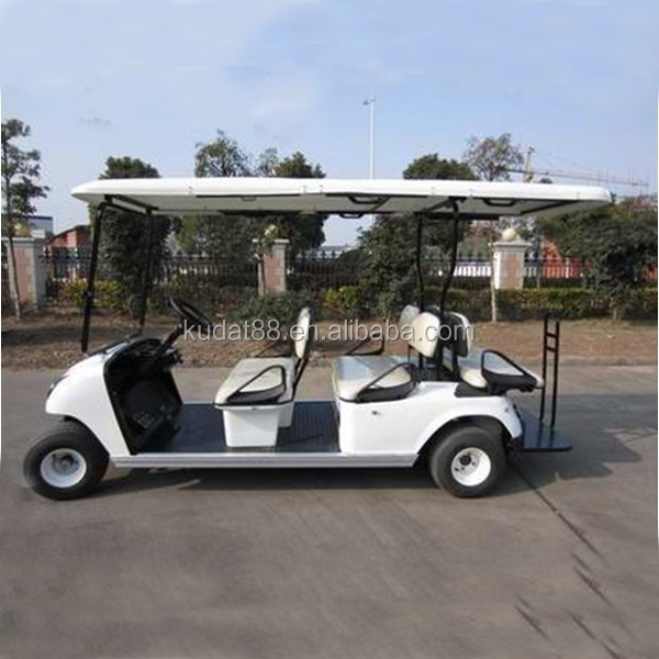 6 seater Electric resort car for sale (DG-C4+2)