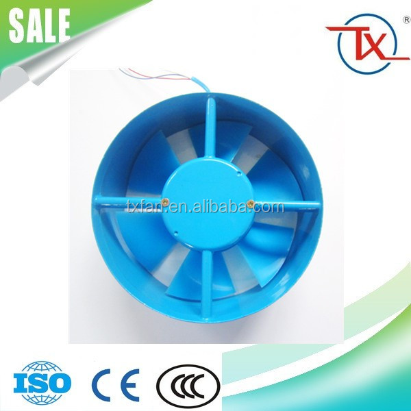 160mm Quiet Cooling AC Blade Impeller plastic Axial Fan
