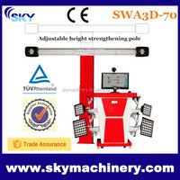 2015 car repairment, 3d wheel alignment/ car alignment machine/ tire balancer