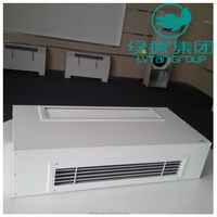 Air conditioner indoor unit. High quality chilled water wall mounted Fan Coil Unit for heating & cooling.