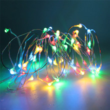 Multicolor vintage brightness 3*AA battery operated outdoor warm white fairy string lights with timer