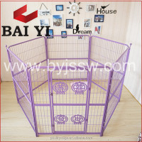 Indoor Fencing For Dogs / Dog Pet Fence & Square Tubing Dog Cage (Direct Sale)