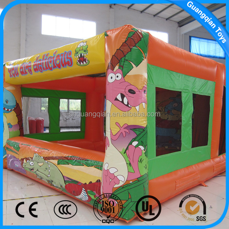 Guangqian PVC Material Small Inflatable Dragon Bounce House
