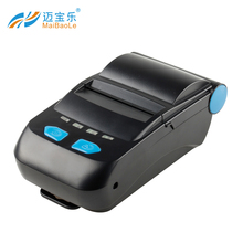 pos58 printer thermal driver 58MM Bluetooth Thermal Printer Portable Wireless mini portable bluetooth mobile Receipt Machine