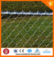 Galvanized /pvc coated 6 gauge chain link fence/chain link fabric( 20 Years Professional Factory )
