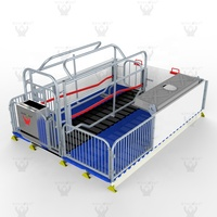 Used Adjustable Farrowing Crates For Pigs