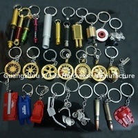hot sale car parts keyring .BBS wheel keychain .Tein spring keyring .Turbo Keyring