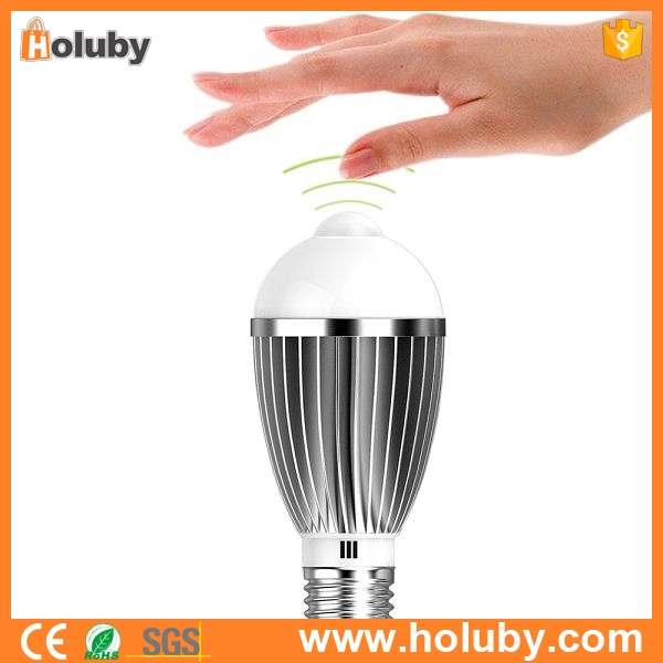 alibaba express 7W PIR Infrared Sensor Light Sensor filament LED Bulb E27 Auto Switch Energy Saving Night Lamp