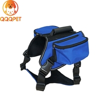 Outdoor waterproof carrier dog backpack dog harness backpack include collar
