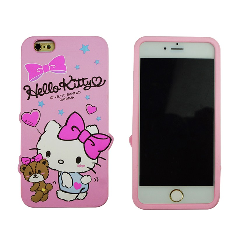 Dongguan Disney Fama audit factory custom 3D cartoon characters silicone smart phone case
