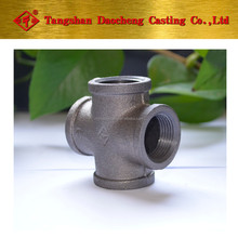 Malleable Iron Pipe Fitting with Banded Cross