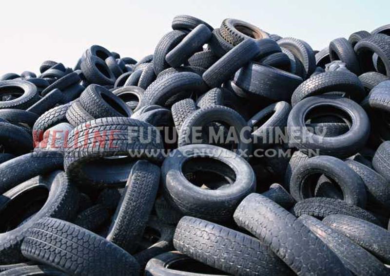 tire shredding machine for sale