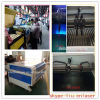 hot !!! laser cutter with youtube vedio 1390 /1290 skype:liu.cnlaser