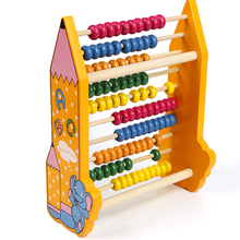2017 wholesale cheap high quality Wooden abacus educational math toy