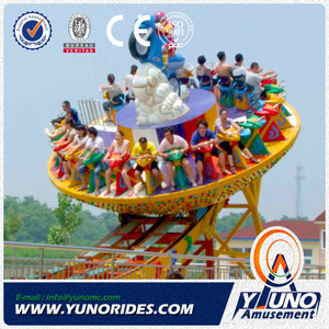 thrill amusement rides Mega Disk'O for sale,flying UFO rides