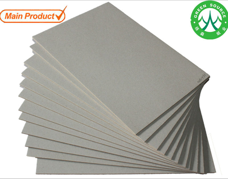 Main products high density high thickness grey paperboard