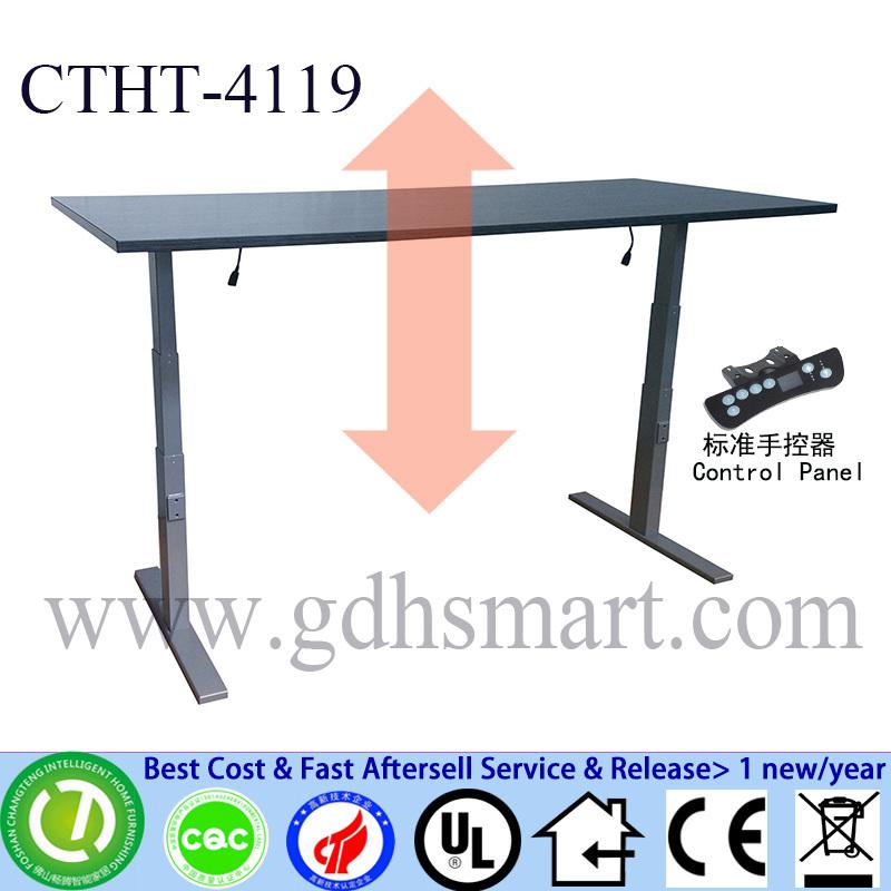 Restaurant Tables Industrial Height Adjustable Office Table Desk