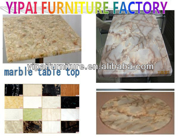 strong stytle marble table top for outdoor YTM