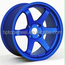 18 inch car wheels work 5x114.3 custom alloy wheel replica volk te37 wheel ON SALES