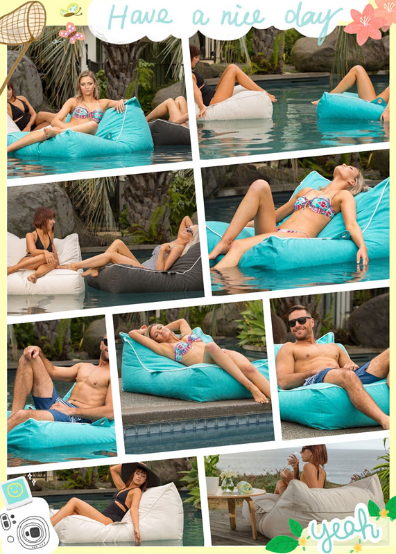 Bean Bag Chairs Bulk Lazy Boy Beanbag Chair Oversized Luxury Comfortably Accommodate Two Adults Float Beanbag