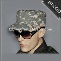 100%cotton military caps,army cap,camouflage cap with flat top