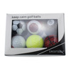 Golf Sports Balls Golf Gift Set Logo Customed Print Golf Ball