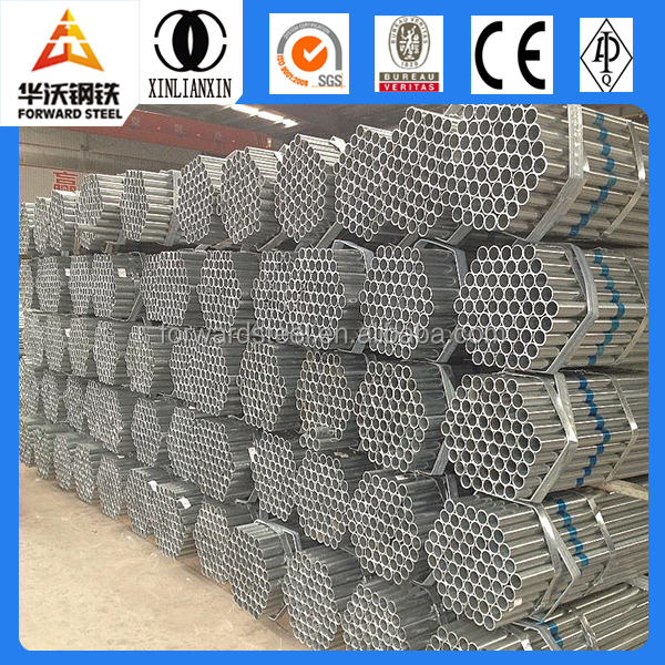 pre galvanized round steel pipe steel <strong>tube</strong> manufacturer ASTM