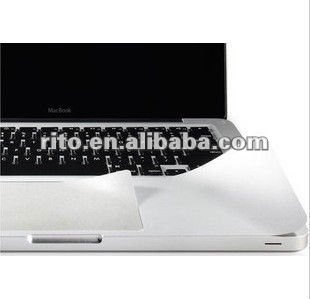 "Metallic Grey Color New Palm Protector Skin Guard Cover Touch pad for 2010/2011 13"" MacBook Pro"