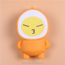 Mobile cartoon emoji Power Bank 2400mah emergency phone charger portable charging power bank