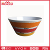 Wholesale food grade wholesale custom round large melamine japanese noodle bowl