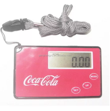 Manufacturers supply ultra-thin card lanyard pedometer