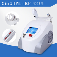 Beauty Equipment Portable shr IPL elight hair removal with RF for skin rejuvenation and pigmentation removal