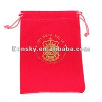 bedge red drawstring pouches bag