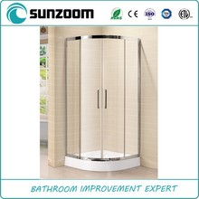 Unique design hot sale walk in shower enclosures