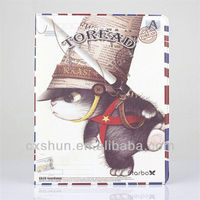 Pirate Cat leather case stand for ipad mini