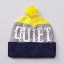 New Arrival Teenagers Knit Beanie Pattern Men Knitted Beanie