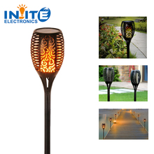 Solar Torch Light Flickering Flame Light 96 Leds Outdoor Flickering Light for home garden use