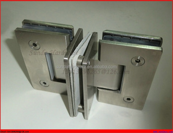 Stainless Steel Double Hinge Shower Door with High Quality
