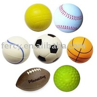 Promotional PU Stress Ball / PU Ball / PU Foam Ball