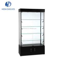 New 2017 Jewellery Display Showcase Modern Glass and Aluminum Cabinet for Retail Store