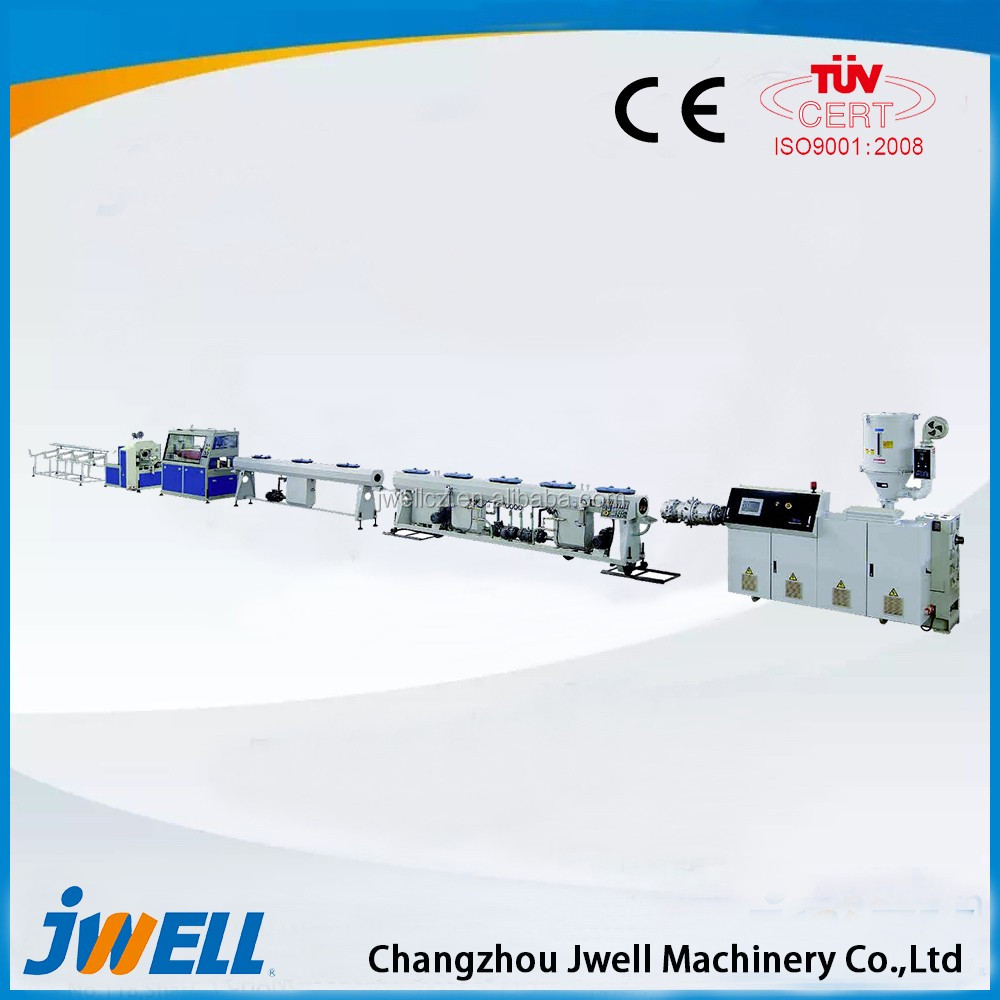 Jwell Common Diameter MPP Electrical Wire Protection Pipe Extruder Machine Manufacturer