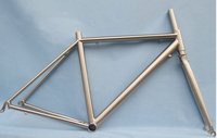 Brand new cheap titanium road bike frame with high quality