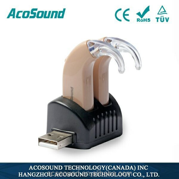Acomate Recharger C-118 rechargeable BTE hearing aids in Philippines hearing aid bte