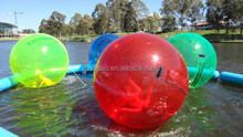 2 meters water zorb ball rolling ball, inflatable buble ball on water