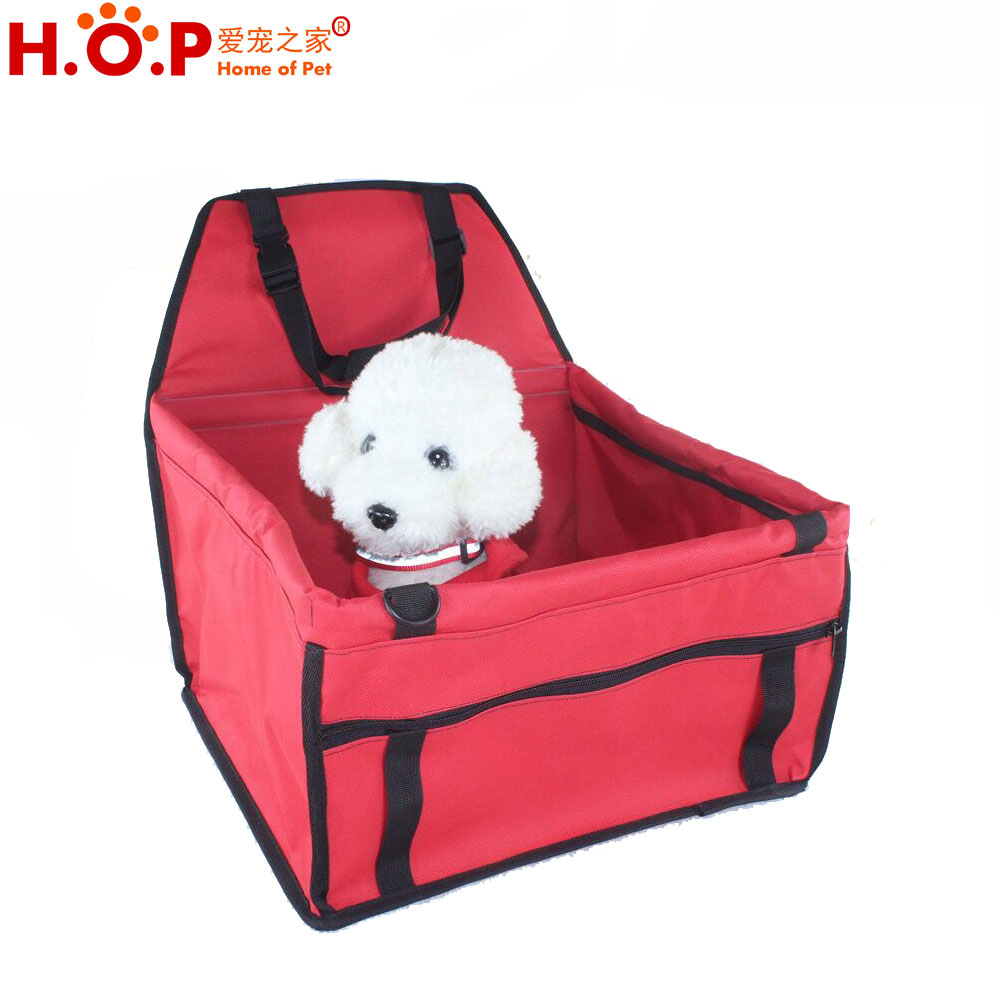 2017 Hot Sales Fabric Folding Pet Car Seat Bag Outdoor For Cats Dogs Crate Portable Waterproof